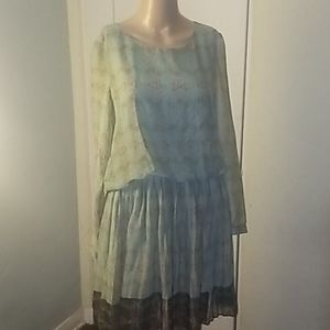 Lavand Anthropologie style dress